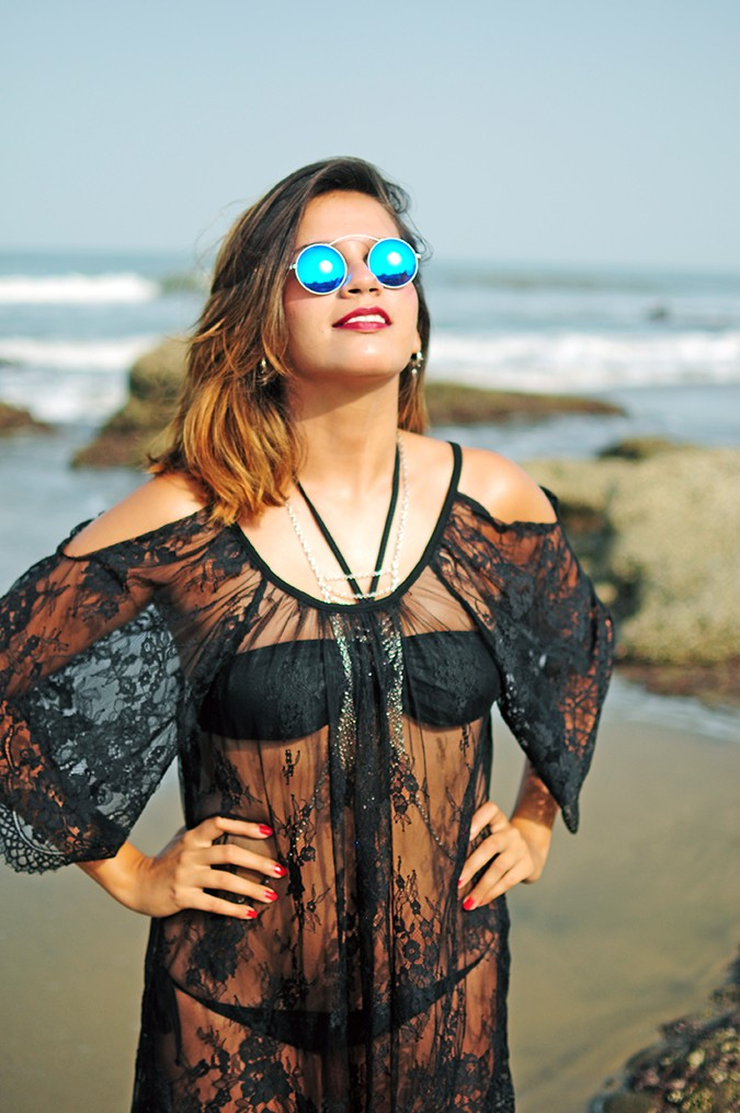 Sheer Bliss | Goa | Akanksha Redhu | half front bright sunnies