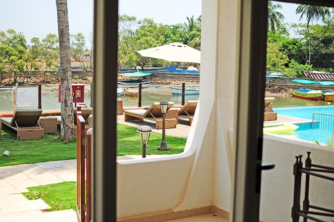 Acron Waterfront Resort | Goa | Akanksha Redhu | view from the room