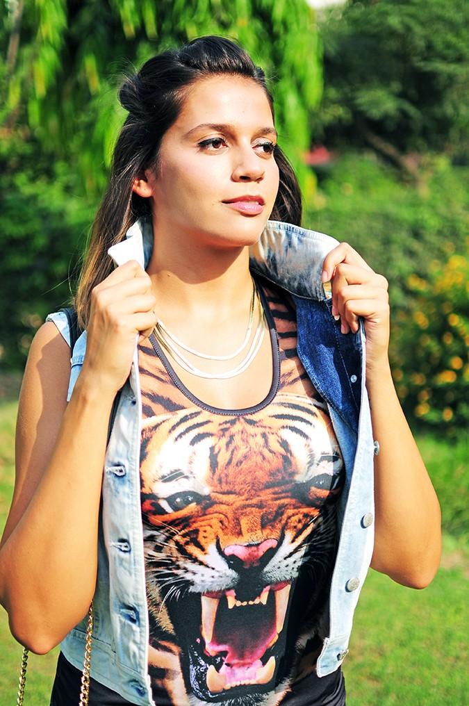 The Roaring Denims | Only India | Akanksha Redhu | half front opening jacket