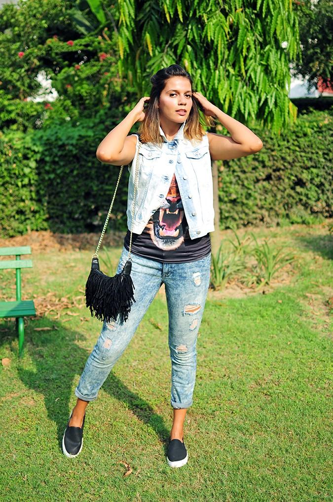 The Roaring Denims | Only India | Akanksha Redhu | full front