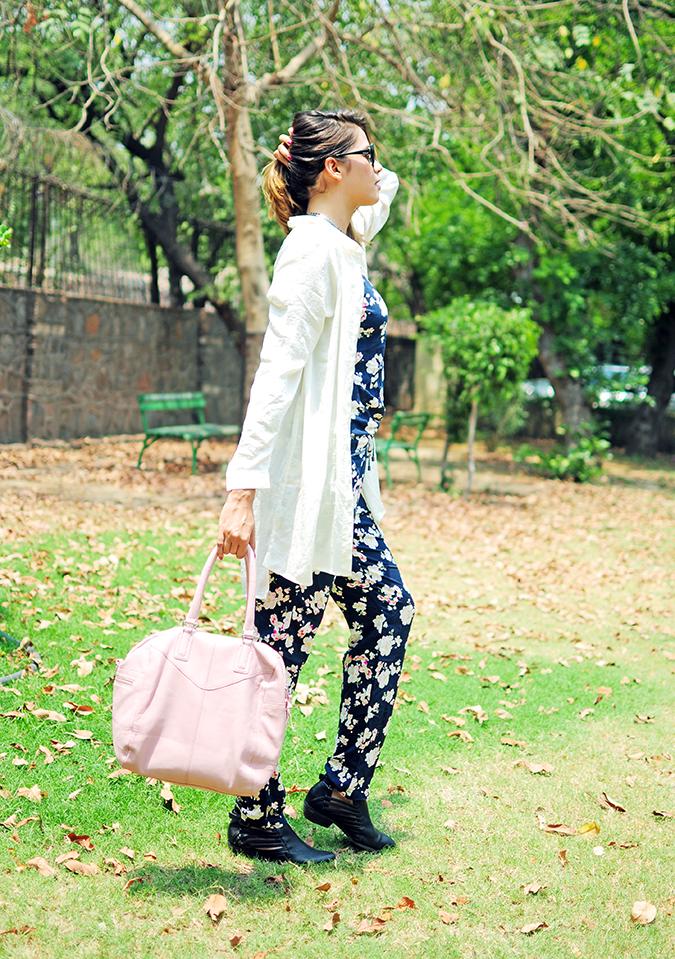 Summer Escape | Akanksha Redhu | full side walk with bag