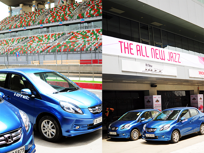 #AllNewJazz | Honda | Akanksha Redhu | blue car combo
