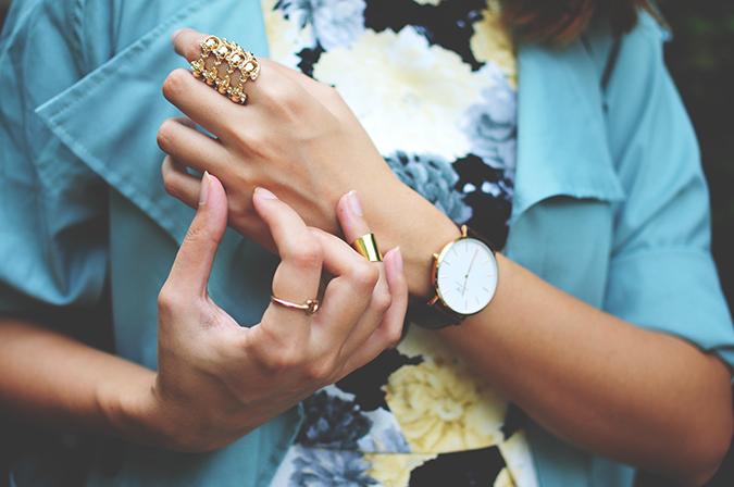 Not Too Dressy | #ootd | Akanksha Redhu | rings and watch