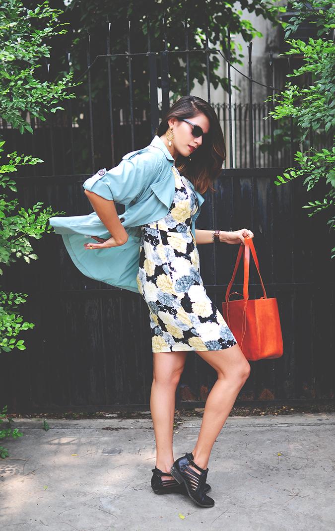 Not Too Dressy | #ootd | Akanksha Redhu | full side jacket flip