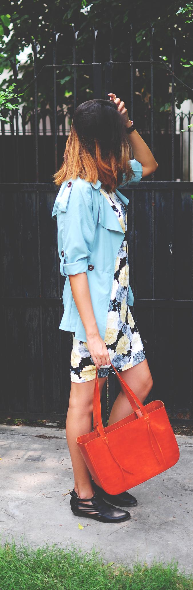 Not Too Dressy | #ootd | Akanksha Redhu | full side long
