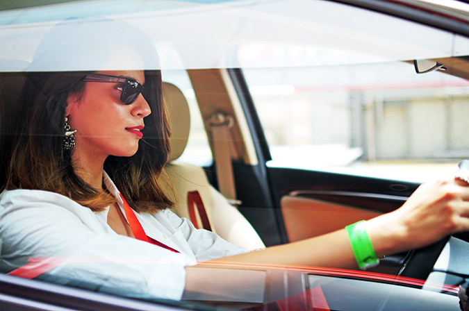 #AllNewJazz | Honda | Akanksha Redhu | me in car window shut