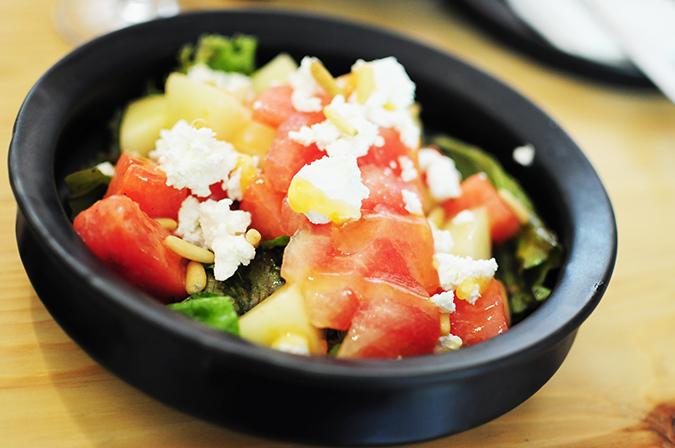 Brunch in Blue | Akanksha Redhu | melon salad