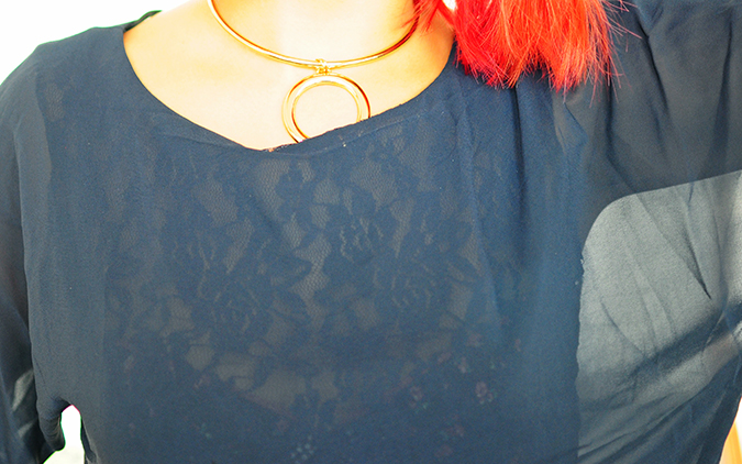 Brunch in Blue | Akanksha Redhu | lace details