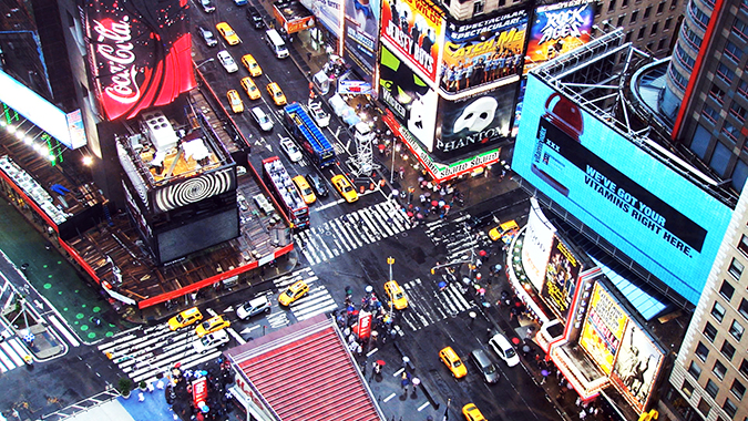 New York with Airbnb | #RedhuxAirbnb | times square stock