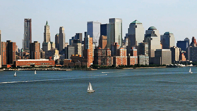 New York with Airbnb | #RedhuxAirbnb | skyline stock
