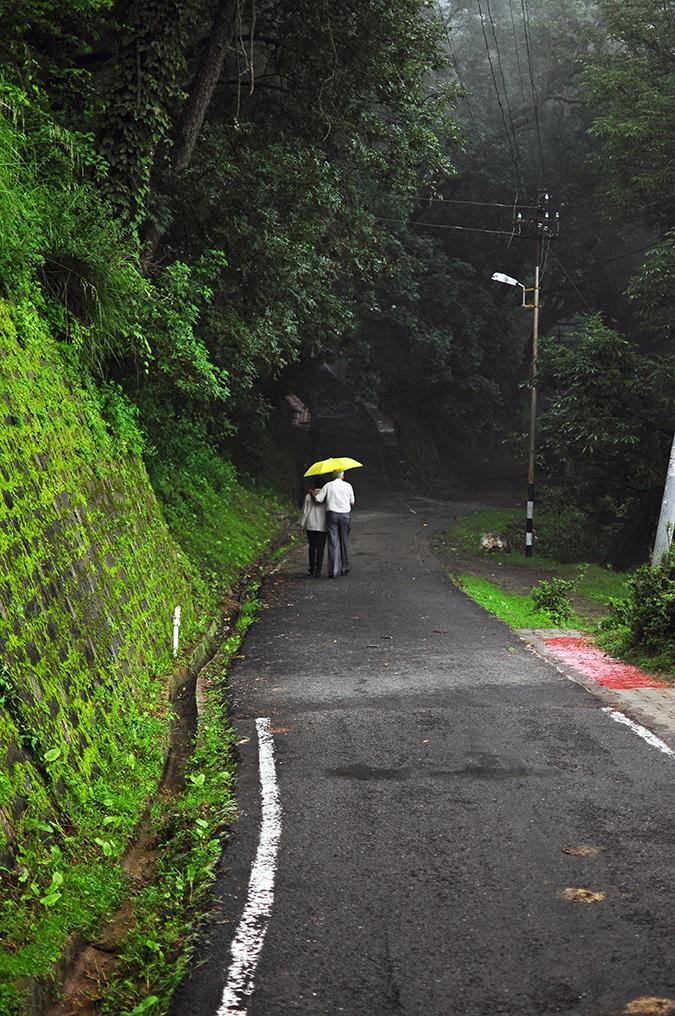 Kasauli | Akanksha Redhu | folks walking
