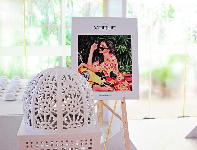 Vogue Eyewear with Deepika Padukone   Akanksha Redhu   branding on stand