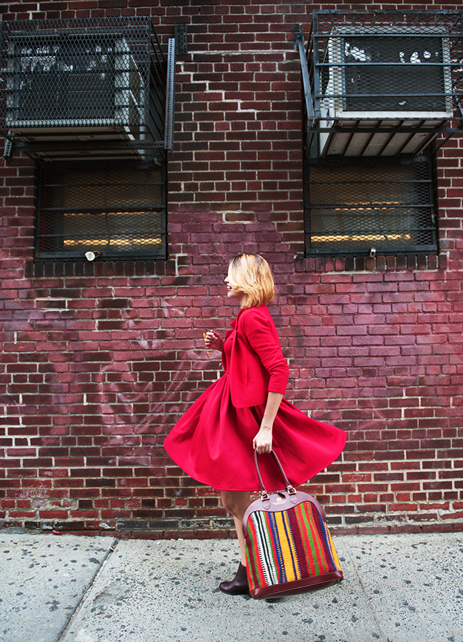 Ludlow Street |New York City | #RedhuxNYC | twirl