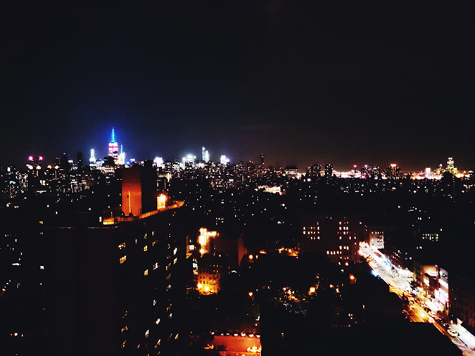 New York City | #RedhuxNYC | labor day lights