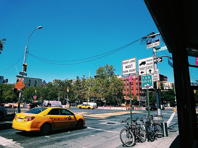 New York City   #RedhuxNYC   view from sugar cafe
