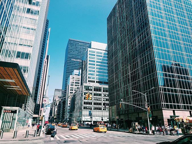 New York City | #RedhuxNYC | crossing at bryant park
