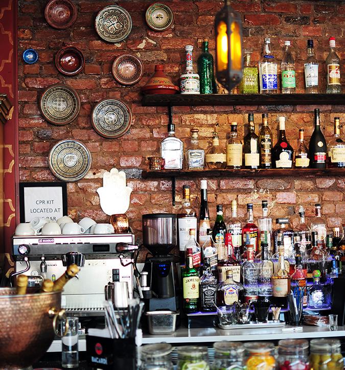 Airbnb | New York City | #RedhuxNYC | mezetto bar
