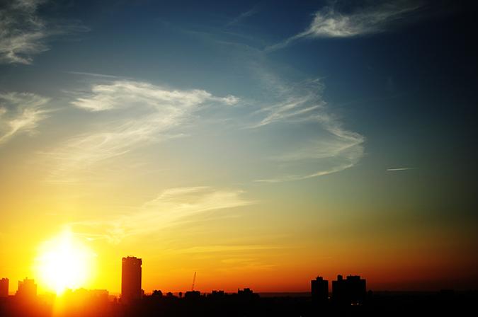 Airbnb | New York City | #RedhuxNYC | sunset view