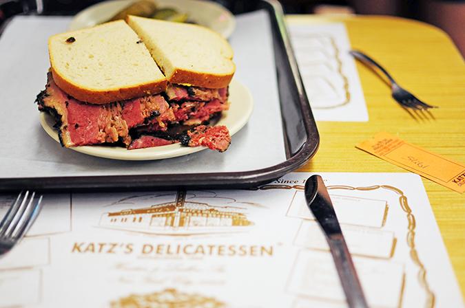 Katz's Delicatessen | #RedhuxNYC | tray