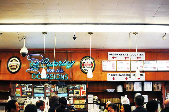 Katz's Delicatessen | #RedhuxNYC | counter straight