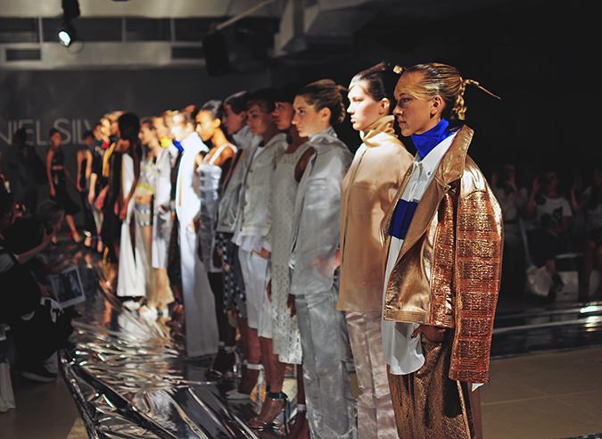 Daniel Silverstain | NYFW | Akanksha Redhu | assembled models