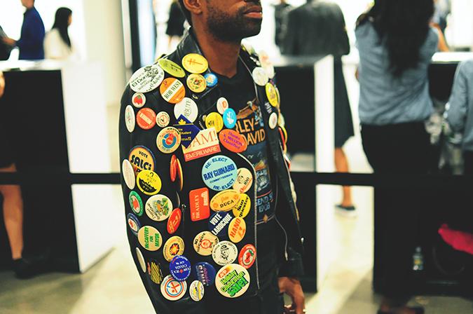 Chromat   NYFW   #RedhuxNYC   guy with pins