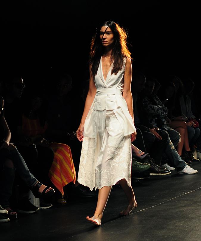 Francesca Liberatore | NYFW | #RedhuxNYC | all white