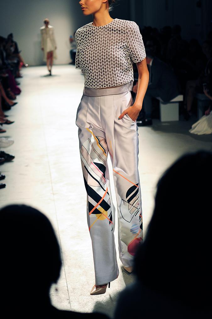 Bibhu Mohapatra | NYFW | Akanksha Redhu | silk pants