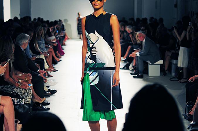 Bibhu Mohapatra | NYFW | Akanksha Redhu | green part dress