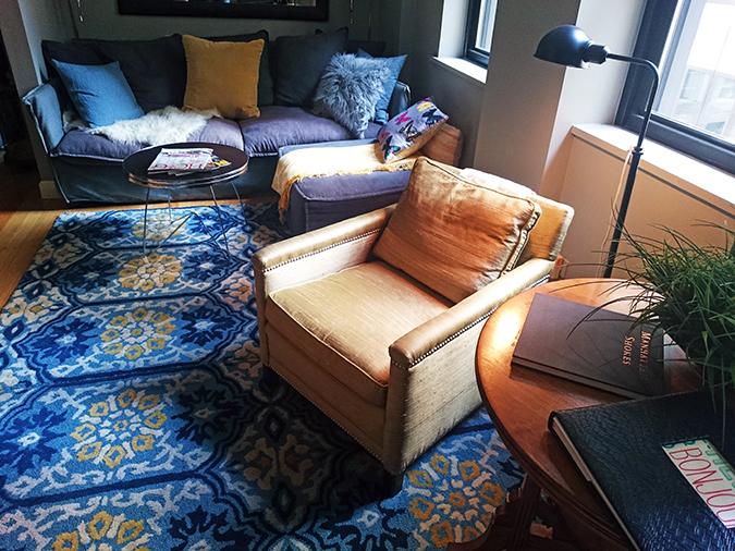 Airbnb | New York City | #RedhuxNYC | couch