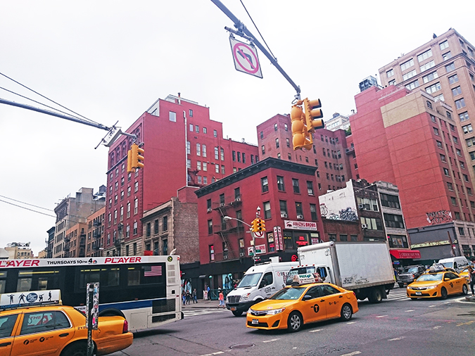 Tess Giberson | NYFW | #RedhuxNYC | crossing