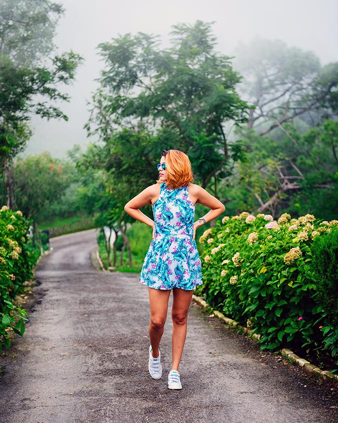 The Hills | #ootd | Akanksha Redhu | full front hair