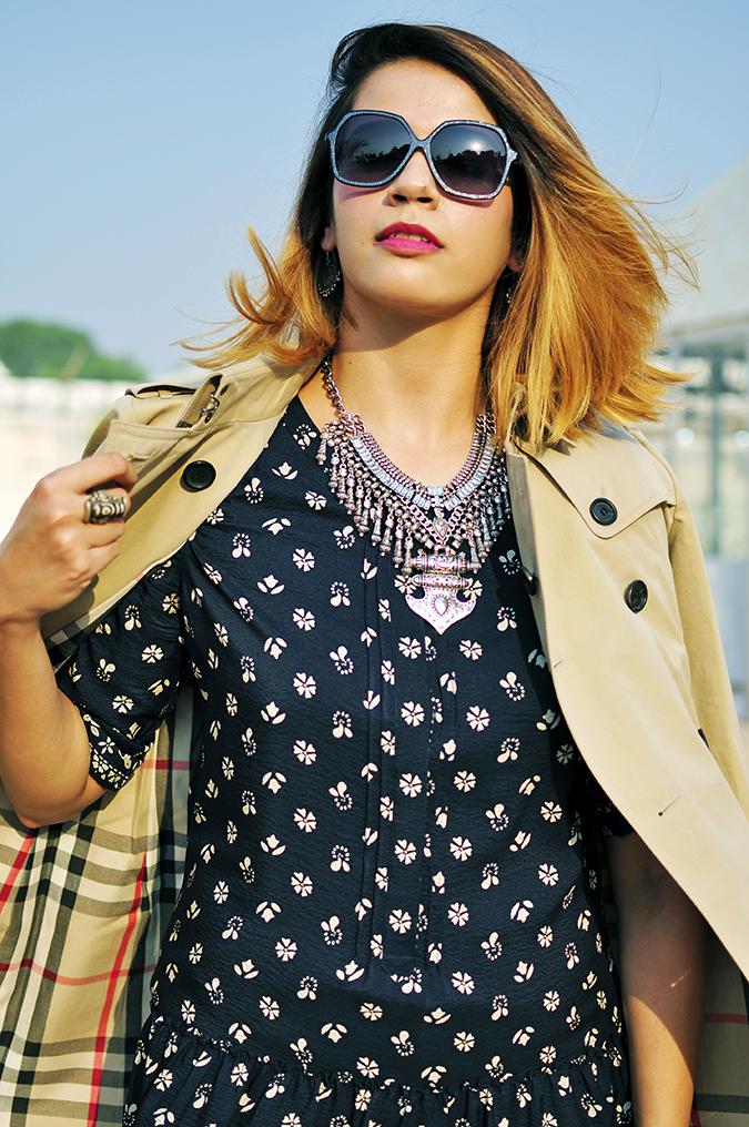 AIFW | Akanksha Redhu | #AIFWSS16 | half front hair fly