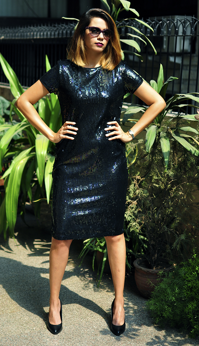 Vero Moda Marquee | Akanksha Redhu | full front legs apart