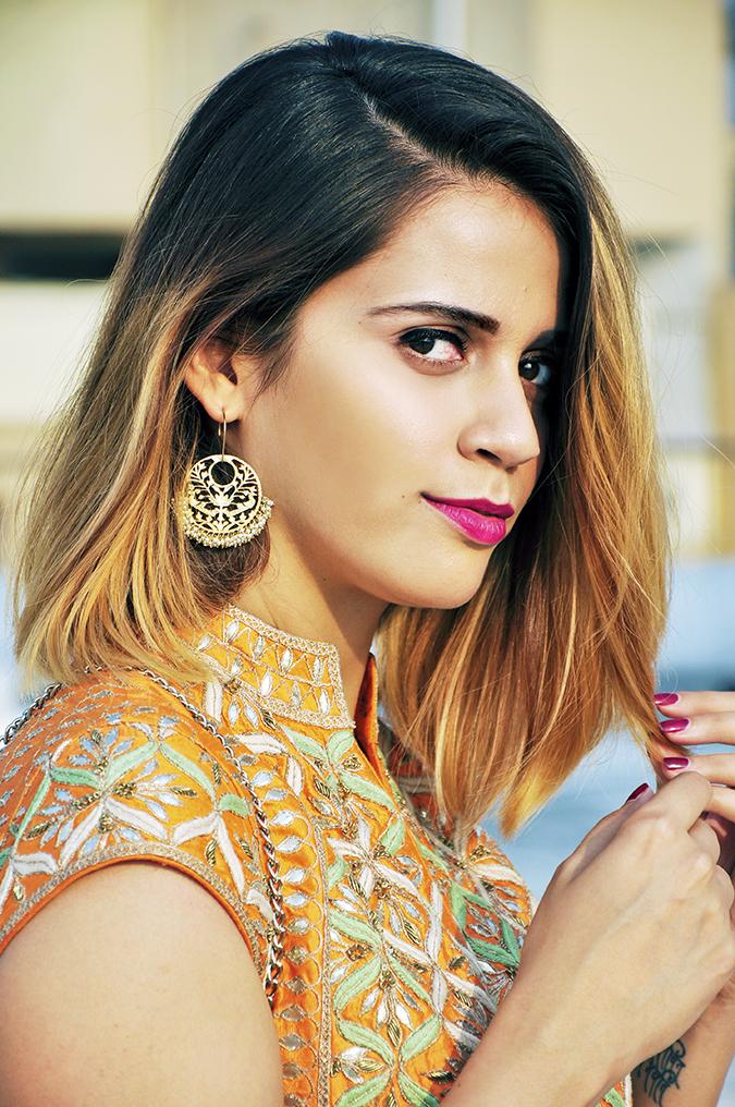 Anita Dongre | Akanksha Redhu | #ootd | face