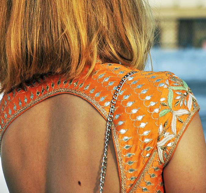 Anita Dongre | Akanksha Redhu | #ootd | back details