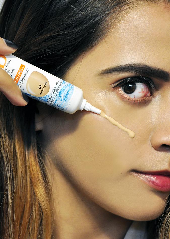 Spawake BB Moisture Fresh | BBcream | Akanksha Redhu | coming out of tube