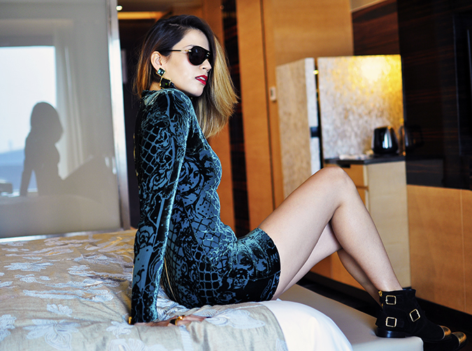 Balmain x H&M | #HMBalmaination | Akanksha Redhu | on bed with ledge