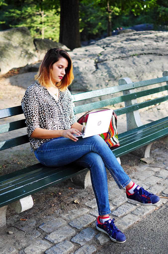 New York City | HP | Akanksha Redhu | HPx2 | sitting on bench
