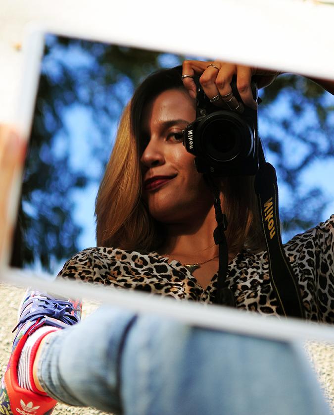New York City | HP | Akanksha Redhu | HPx2 | camera in mirror