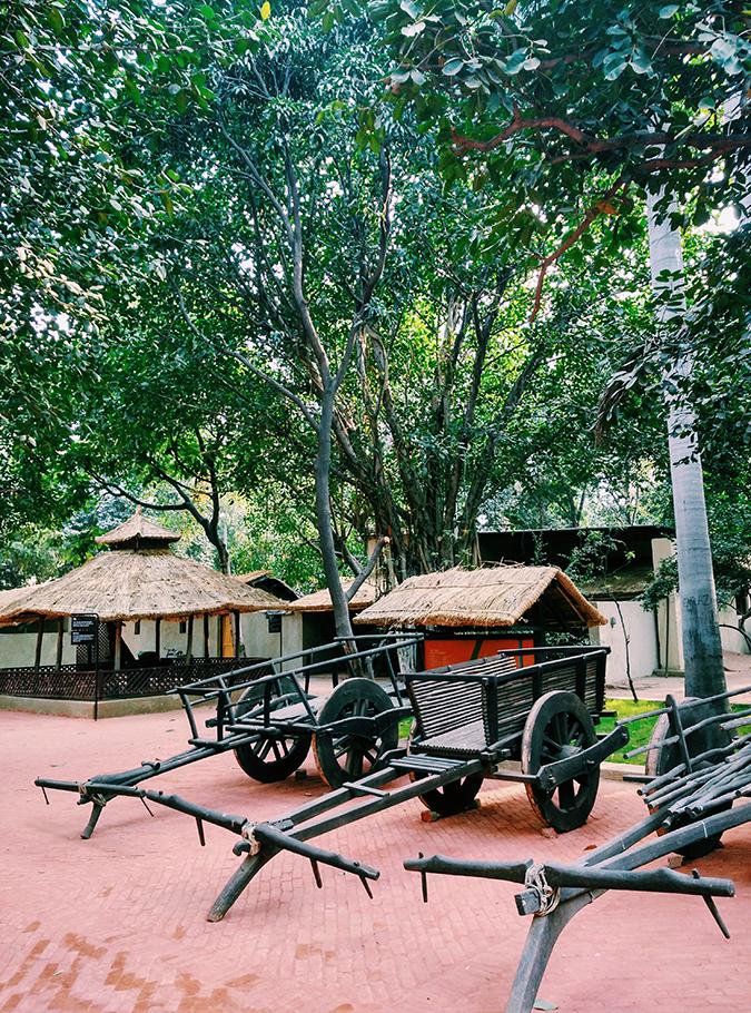 Crafts Museum | New Delhi | Akanksha Redhu | carts from close
