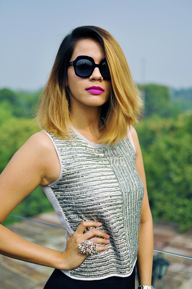 Vero Moda Marquee | Qutub | Akanksha Redhu | half front one hand on waist