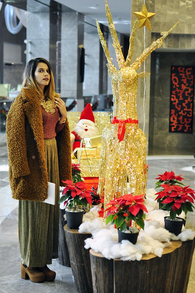 Christmas Cheer | Akanksha Redhu | full front sleigh