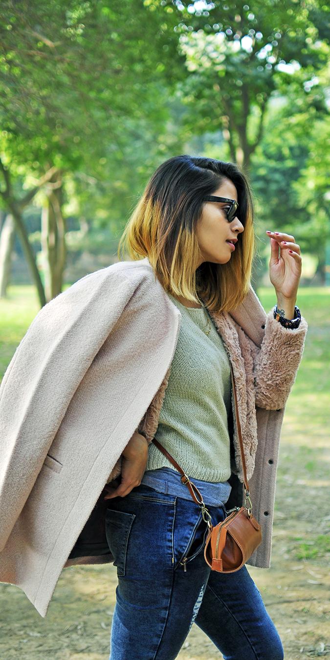 Warm n Fuzzy | Only India | Akanksha Redhu | half side all long