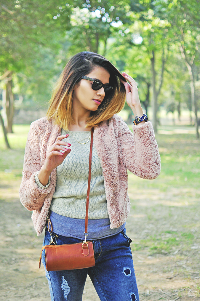 Warm n Fuzzy | Only India | Akanksha Redhu | half ront furry