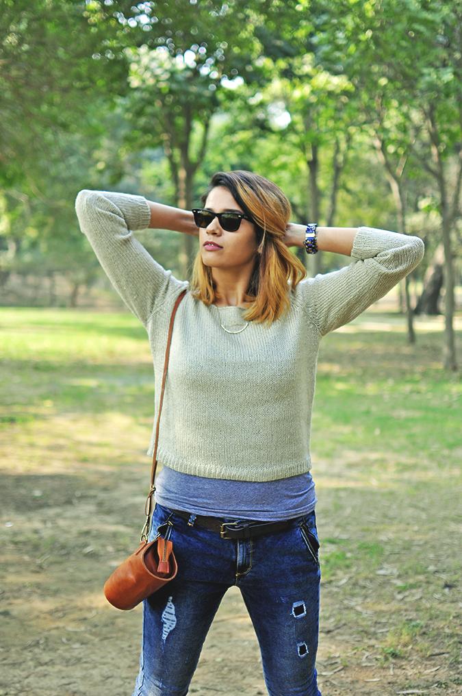 Warm n Fuzzy | Only India | Akanksha Redhu | half front sweater