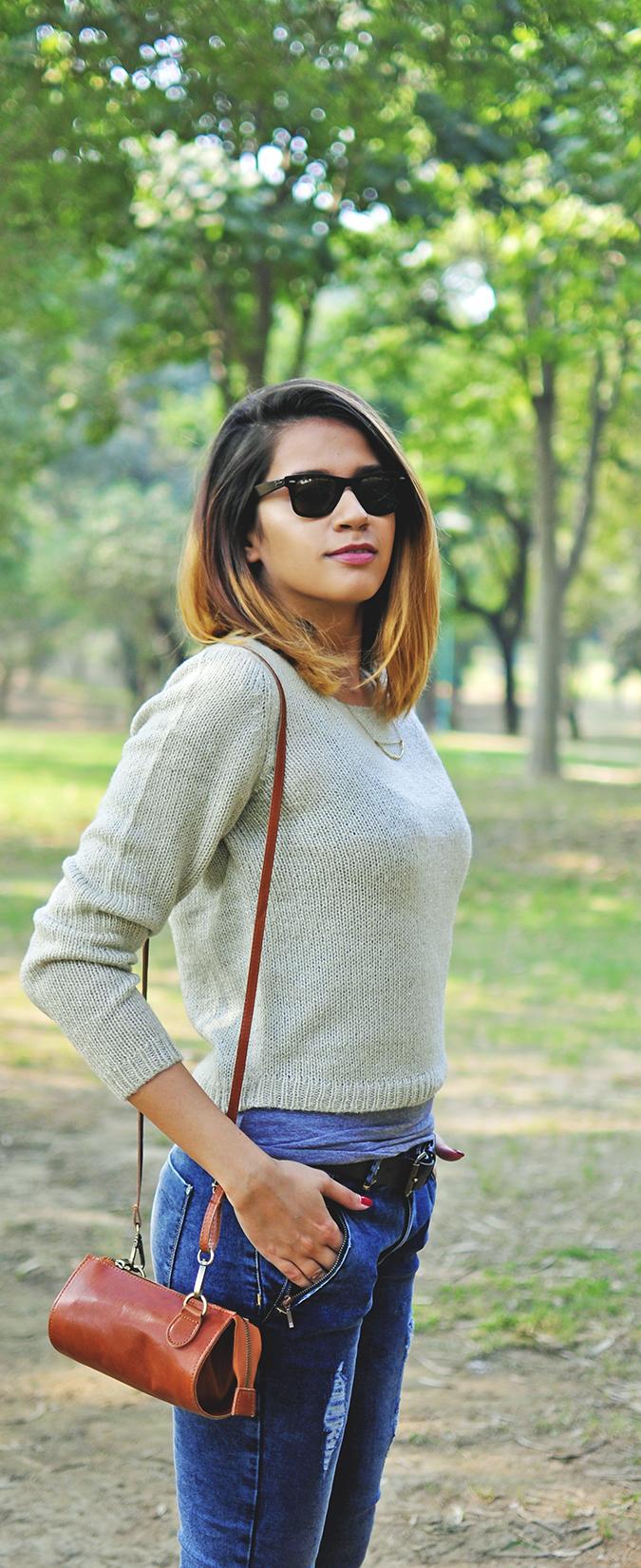 Warm n Fuzzy | Only India | Akanksha Redhu | sweater half side long