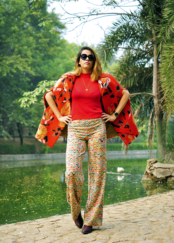 Missoni | Akanksha Redhu | full front water arms on waist