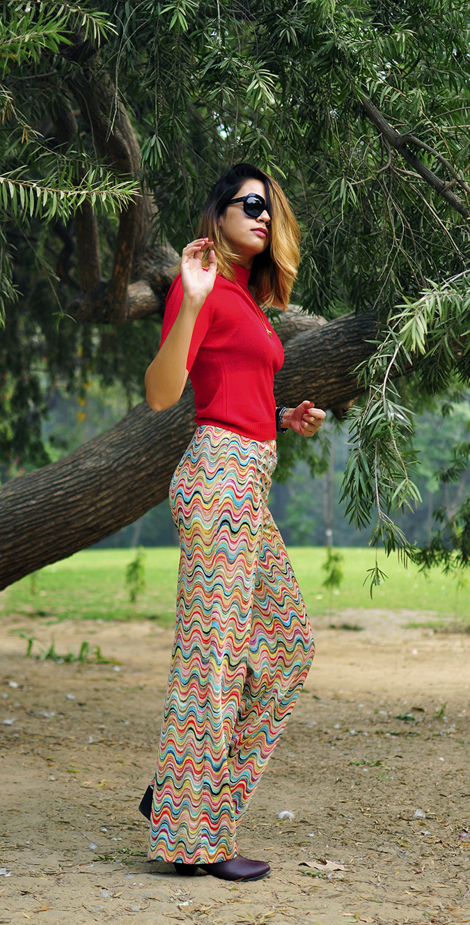 Missoni | Akanksha Redhu | full side tree long