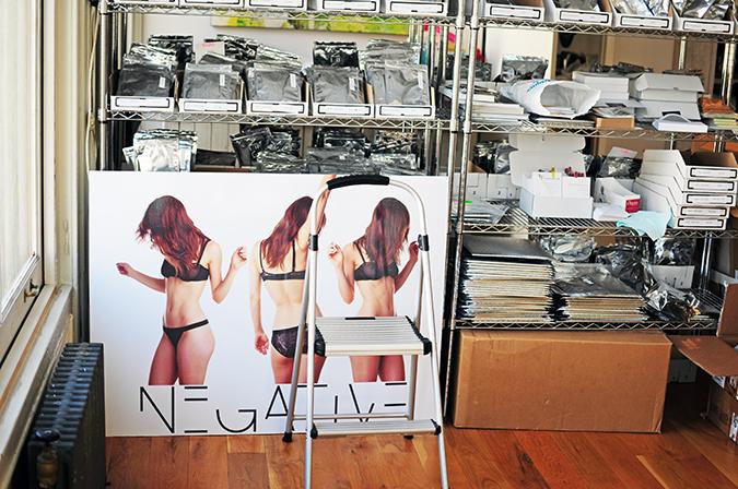 Negative Underwear | Akanksha Redhu | signage
